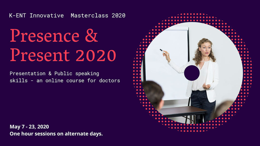 Brochure of Presence and Present 2020 program
